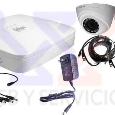 kit dahua de 2 cámaras HD 720P