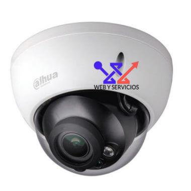 cámara anti vandálica dahua varifocal