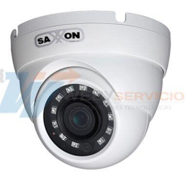 cámara domo metálica 91 grados ir 30m saxxon DF2810TM