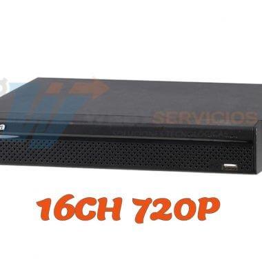 dvr dahua 16ch 720p XVR4116HSX
