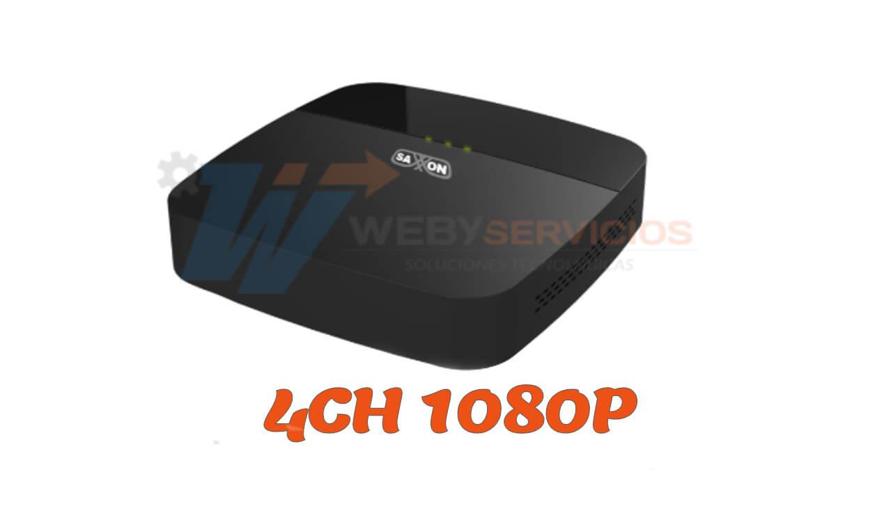 DVR saxxon 4ch 1080P