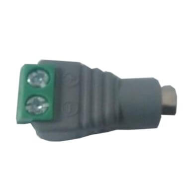 Conector de voltaje Hembra CCTV