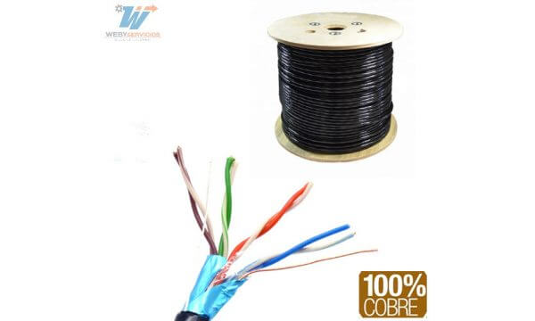 cable ftp SAXXON OFTPCAT5ECOPE150N 105m