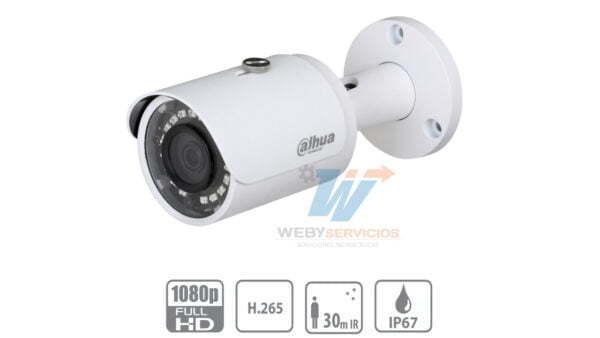 cámara DAHUA IPC-HFW1230S-S4 2mp poe