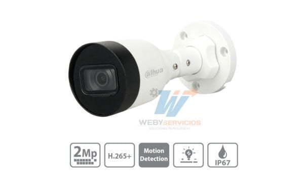 cámara ip DAHUA IPC-HFW1230S1-S4 2mp poe 20fps