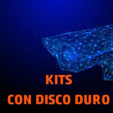 Kit con disco duro