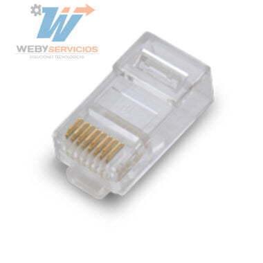 plug rj45 cat 5E 100 piezas