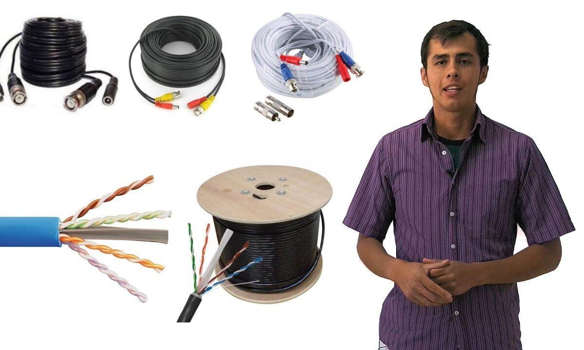 tipos de cables para cámaras de vigilancia