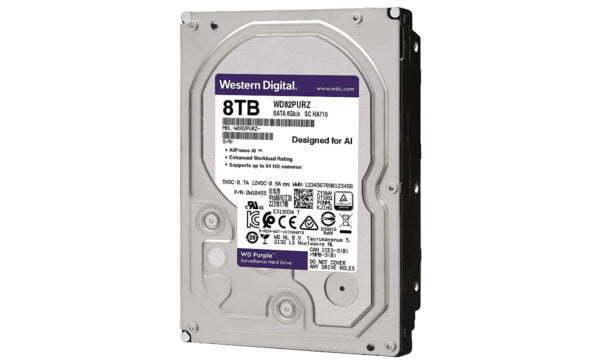 WESTERN WD82PURZ - Disco duro 8 TB