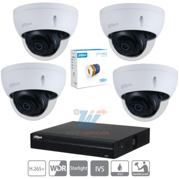 equipo vigilancia 4k económico