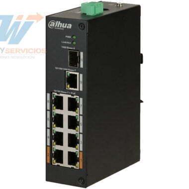 DAHUA PFS31108ET96 - Switch PoE 8 puertos