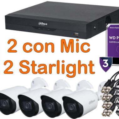 Kit starlight 4 cámaras
