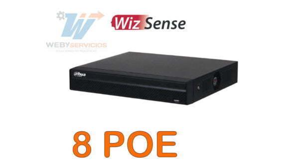 NVR1108HS-8P-S3 nvr 8 poe dahua