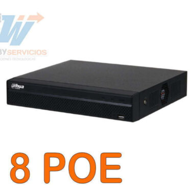 NVR1108HS nvr dahua 8 canales poe