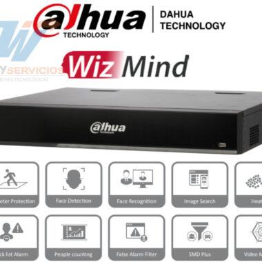 NVR DAHUA NVR5432-16P-I de 32 canales IP WIzmind